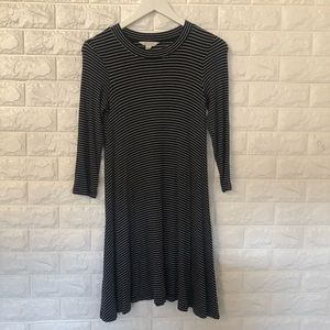 AEO black/white striped Soft & Sexy dress S